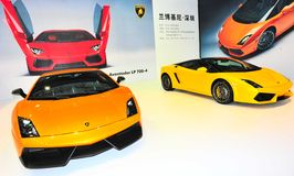 Lamborghini show Royalty Free Stock Photography