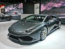 Lamborghini show royaltyfria bilder