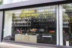 Lamborghini sklep w Dusseldorf, Niemcy Zdjęcia Royalty Free