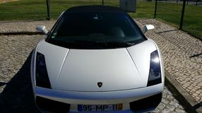 Luxury Automobile lamborghini  Royalty Free Stock Image