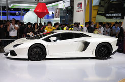 Lamborghini Sport Car Stock Photography