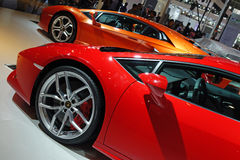 Lamborghini  sport car Stock Photos