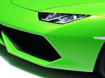 Lamborghini Sport Car Face Light Royalty Free Stock Image