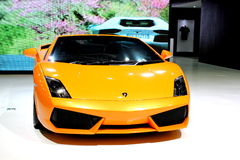 A Lamborghini Sport Car Stock Image