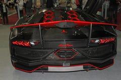 Lamborghini sports car Paris Motor Show - Oct 2014 Stock Images