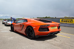 Lamborghini sports car Royalty Free Stock Images