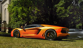 Lamborghini, Sports Cars Royalty Free Stock Images