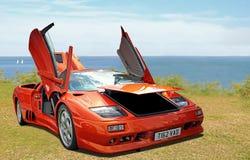 Lamborghini sportscar Fotografia Stock Libera da Diritti