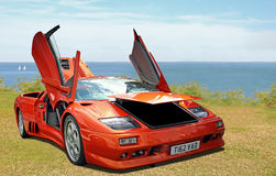 Lamborghini sportscar Royalty Free Stock Photo
