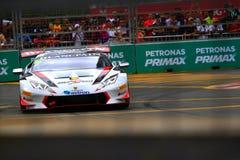 Lamborghini Super Trofeo KL City Grand Prix Stock Photography