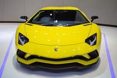 Lamborghini supercar Aventador royalty-vrije stock afbeelding