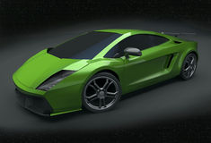 Lamborghini Superleggera remodelado Imagens de Stock