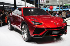 Lamborghini suv. Show in Auto China 2012 royalty free stock images