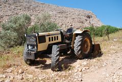 Lamborghini tractor, Greece Royalty Free Stock Image