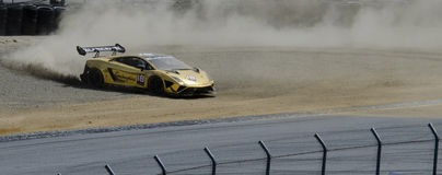 Lamborghini Trofero spins Royalty Free Stock Image