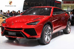 Lamborghini Urus Stock Photo