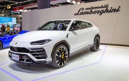 Lamborghini Urus SUV zdjęcia royalty free