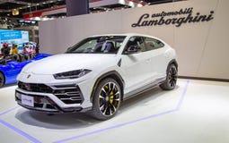 Lamborghini Urus SUV royaltyfria foton