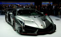 Lamborghini Veneno Royaltyfri Fotografi