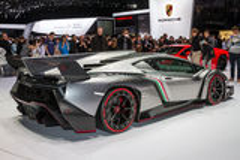 Lamborghini Veneno Stock Images