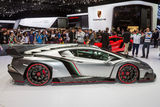 Lamborghini Veneno in Geneva Motor Show Stock Photos