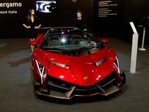 Lamborghini Veneno in Milaan Autoclassica 2016 stock afbeeldingen