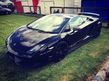 Lamborghini visto no portal dos tipos Fotografia de Stock