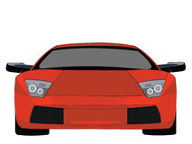 Lamborgini royalty free illustration