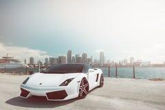 Lamborgini. Natured sports car Royalty Free Stock Photography