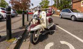 Lambretta Scooter 1960 B Stock Images