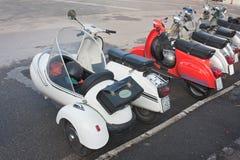 Lambretta sidecar Stock Photography