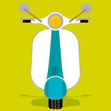 Lambretta (vector) Stock Photography
