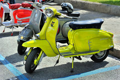 Lambretta X 150 Special, Apple green lammy, 1968 Royalty Free Stock Photography