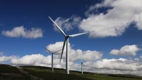 Lambrigg Wind Farm stock footage