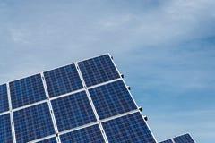 lambrisse photovoltaïque Image libre de droits