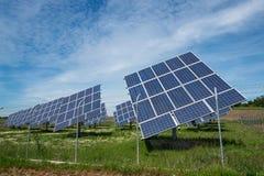 lambrisse photovoltaïque Image stock