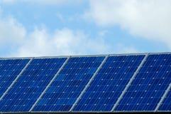 lambrisse solaire Images libres de droits