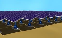 lambrisse solaire Photos libres de droits