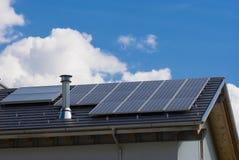 lambrisse solaire Images stock
