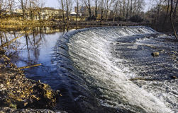 Lambro Fluss im Monza-Park Stockfotografie