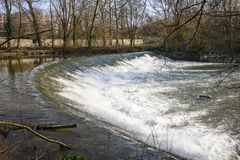Lambro river in the Monza Park Royalty Free Stock Images