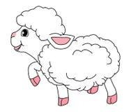 lambs royaltyfri illustrationer