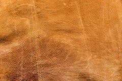 Lambskin leather. Vintage look Italian lambskin leather for background use Stock Photo