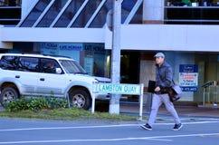 Lambton奎伊在惠灵顿-新西兰 库存照片