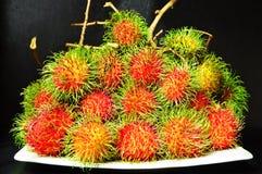 Lambutans favorit- frukt royaltyfria bilder