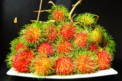 Rambutans favourite fruit Royalty Free Stock Images