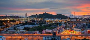 Lamchabang city Stock Photo