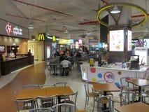 Lamcy广场购物中心在迪拜,阿拉伯联合酋长国 库存照片