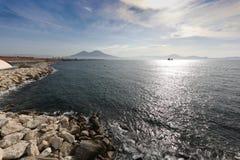 Lamdscape of Naples stock photo