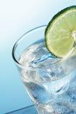 Lame, Lemon juice with ice Stock Photos